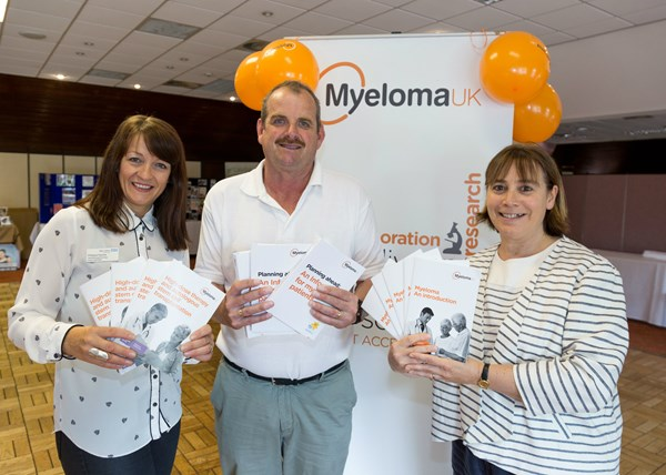Myeloma health and wellbeing day