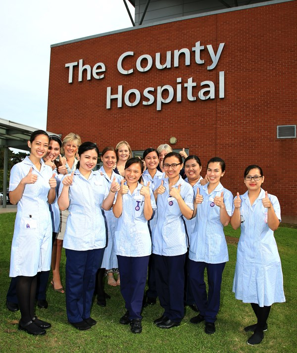 Filipino nurses celebrate exam success