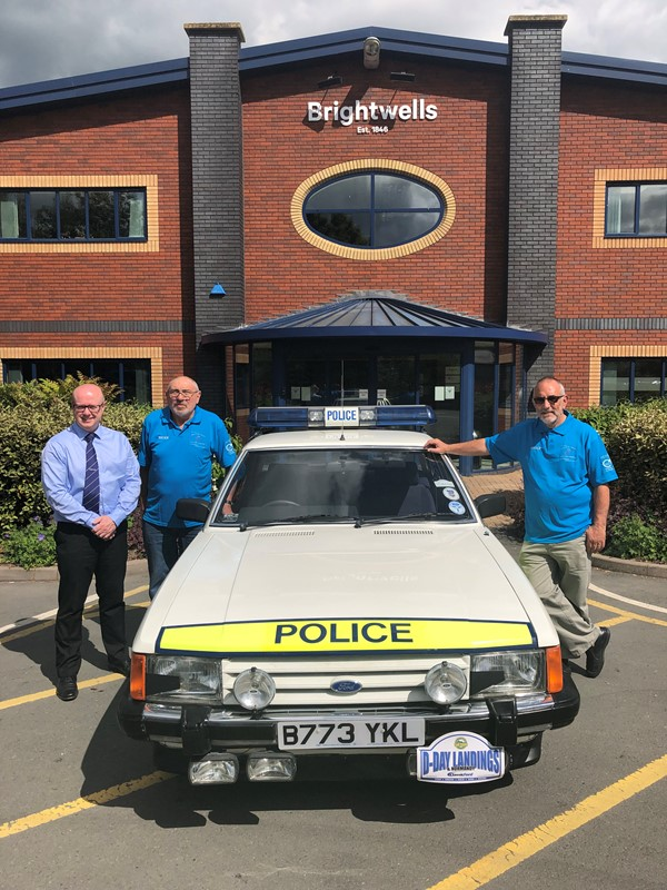 D-day rally fundraiser for Wye Valley NHS Trust